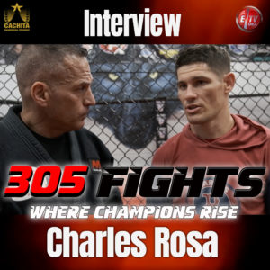 305 FIGHTS TV INTERVIEW THUMB CHARLES ROSA